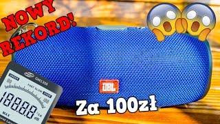Podróbka JBL Xtreme za 100zł - NOWY REKORD!