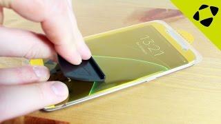 Zagg InvisibleShield HD Samsung Galaxy S7 Edge Screen Protector Installation & Review