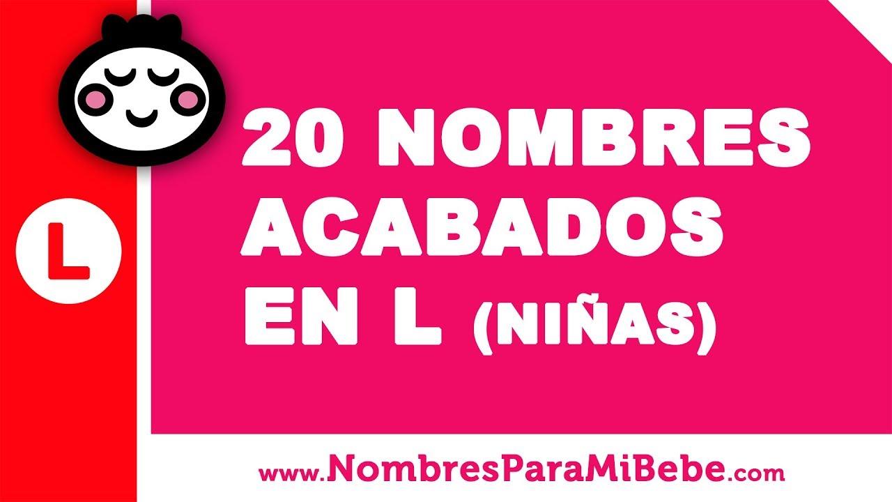 20 nombres para niñas terminados en L - los mejores nombres de bebé - www.nombresparamibebe.com