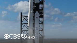 Space X launch scrubbed, flight aims to test safety procedures