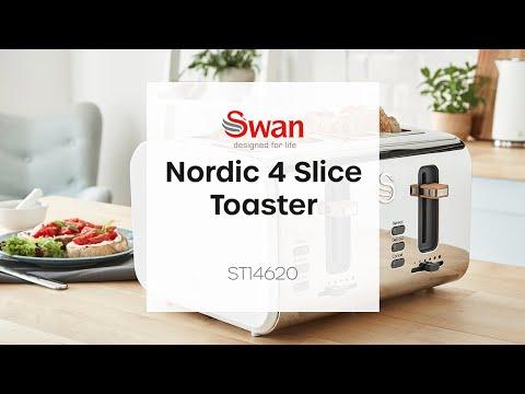 Swan Nordic 4 Slice Toaster