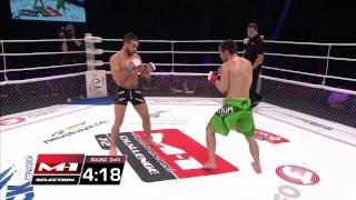 Moktar Benkaci vs Alexey Naumov / Моктар Бенкачи vs Алексей Наумов, M-1 Challenge 72