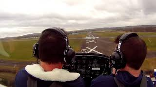 Landing at Wolverhampton Airfield