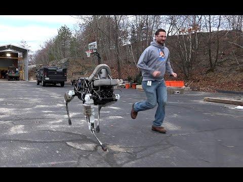 Google's New Small Dog Robot