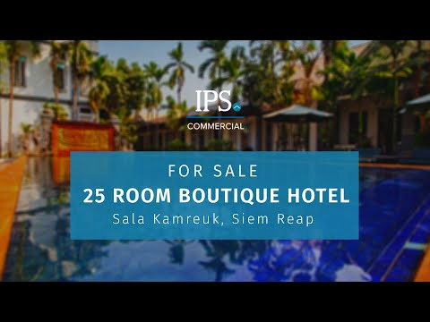 25 Bedroom Boutique Hotel  For Sale - Sala Kamreuk, Siem Reap thumbnail