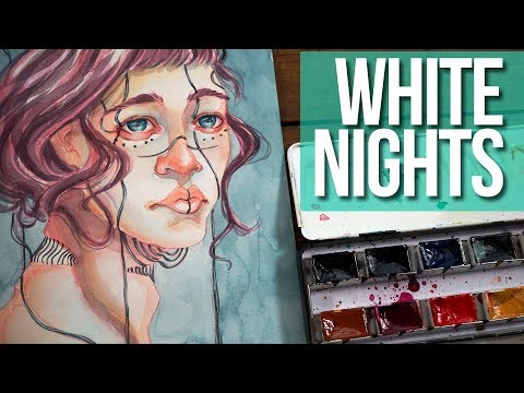 White Nights Watercolor Review