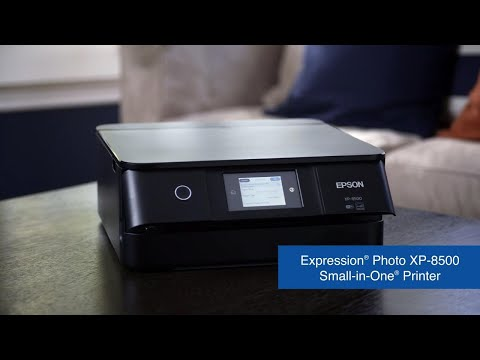 Expression Photo XP-8500 Small-in-One All-in-One Printer | Photo