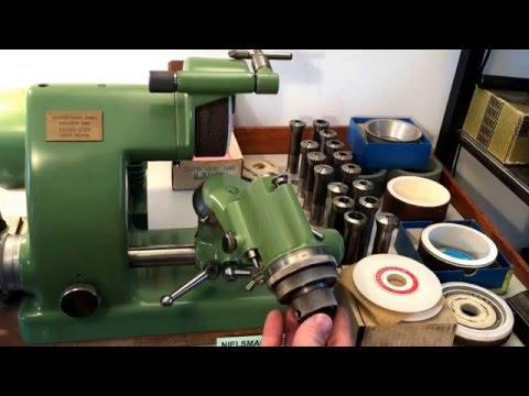 Deckel SO Schleifmaschine mit Zubehör, Cutter Grinder