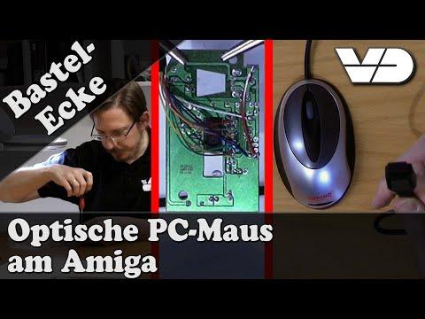 Virtual Dimension - Optical PC-mouse for the Amiga