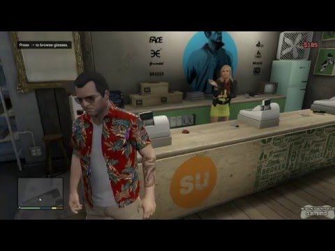 GTA 5 - All Clothing Stores With Michael