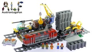 Lego City 60098 Heavy Haul Train - Lego Speed Build Review