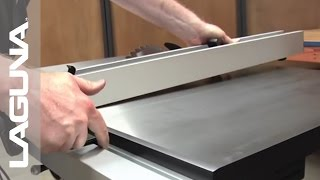 Fusion Tablesaw Setup - Install the Fence - Part 9 of 18