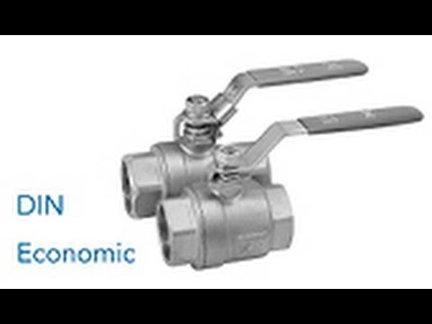 Unterschiede: Kugelhahn nach DIN / ECONOMIC-Ausführung