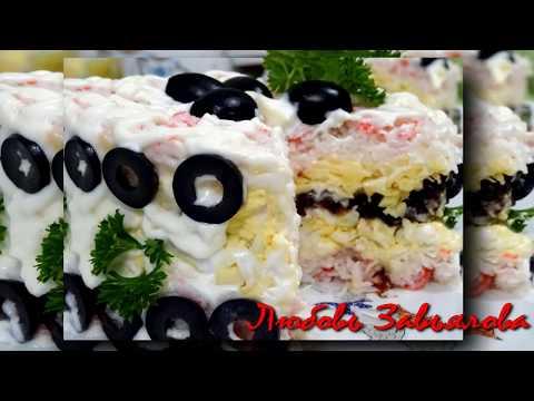 Салат Крабовый-очень вкусный!/Crab Salad
