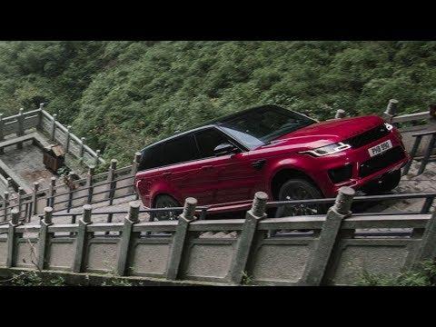 2018 Range Rover Sport Dragon Challenge - Scaling 999 Steps !