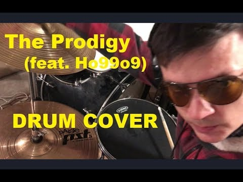 The Prodigy (feat. Ho99o9) - Fight Fire with Fire  @ Drum cover GLAZIKE TV