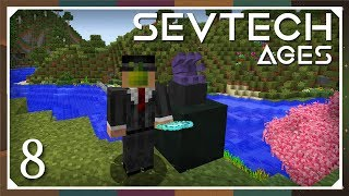 SevTech: Ages - EP 7 | Shoggoth Lairs & Charging the
