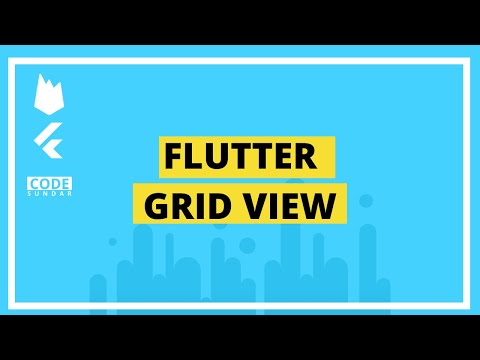 Flutter Tutorial - Flutter Grid View - смотреть онлайн на Hah Life