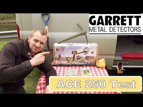 "🔴 Metalldetektor für Anfänger  "" Garrett ACE 250 Metalldetektor """