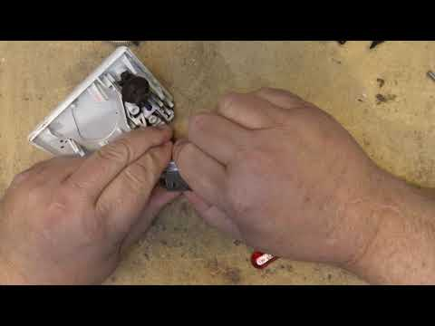 fixing an old mechanical timer