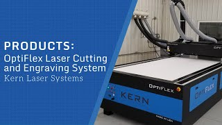 OptiFlex Cutting and Engraving Laser System