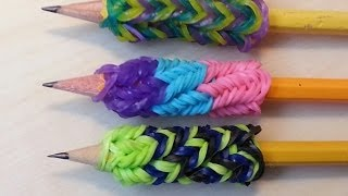10 Effective Handwriting Tips For Your Students - Make your own rainbow loom pencil grip!