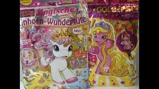 Filly Wundertüten Vergleich Magische Einhorn und Gold Pack