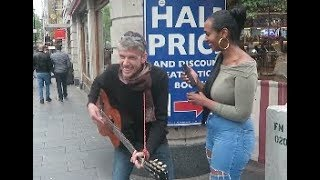 People In London Dancing To Habesha Music (ሀበሻ ዳንስ) | Helen Haile