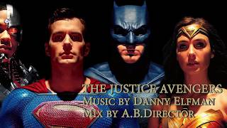 """JUSTICE AVENGERS"" - Justice League/Avengers Music Comparison"