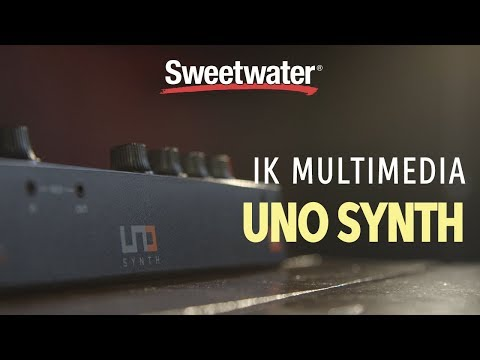 IK Multimedia Uno Synth Analog Synthesizer Review