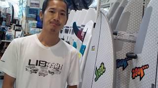 驚きのフレックスと世界一の強度を誇るリブテック社のロストサーフボード!