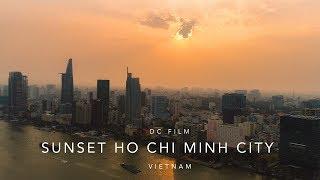 Drone Footage Vietnam | Sunset Ho Chi Minh City
