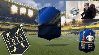 HUGE TOTY PACK OPENING! BACK 2 BACK WALKOUTS!! -  FIFA 17