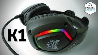 Best Gaming Headset - Runmus K1 Gaming Headphones Surround Sound Onikuma