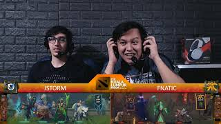 [FIL ] FNATIC v JSTORM | Game 1 | Playoffs | The Kuala Lumpur Major | By Loot.bet