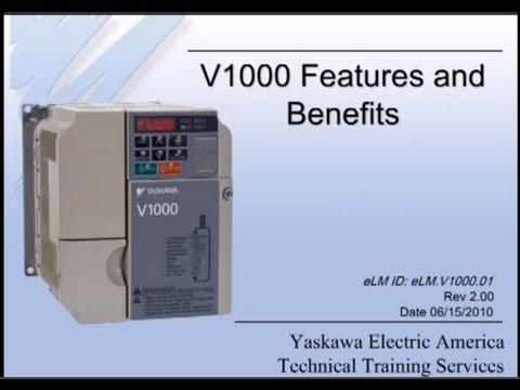 V1000 Yaskawa  Compact Vector Control AC Drive