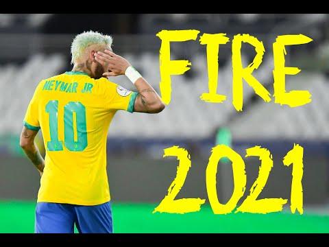 Neymar Jr ▶ Brook Xiao - Fire .. Skills & Goals .. 2021 .. ( HD ) ..