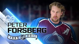 Peter Forsberg two-time Cup winner with Avalanche