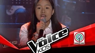 """The Voice Kids Philippines Blind Audition """"Empire State of Mind"""" by Khen"""