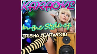 Fools Like Me (In the Style of Trisha Yearwood) (Karaoke Version)