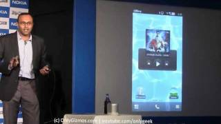 Nokia NFC Demo With Sharukh Khan (600, 700, 701)