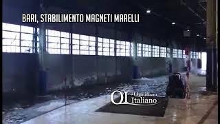 Bari, allagati gli stabilimenti Bosch e Magneti Marelli: scoppiano le polemiche