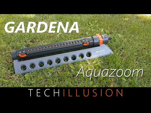 🛠GARDENA Aquazoom 350 - Viereckregner Rasensprenger Review & Test