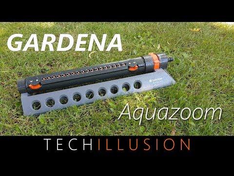 🛠GARDENA Aquazoom 350 - Viereckregner Rasensprenger Review & Test