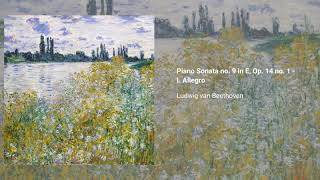 Piano Sonata no. 9 in E major, Op. 14 no. 1