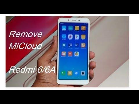 Unlock Micloud Xiaomi Redmi 6A Cactus Miui 9 & 10 Work 100% - ABDUL