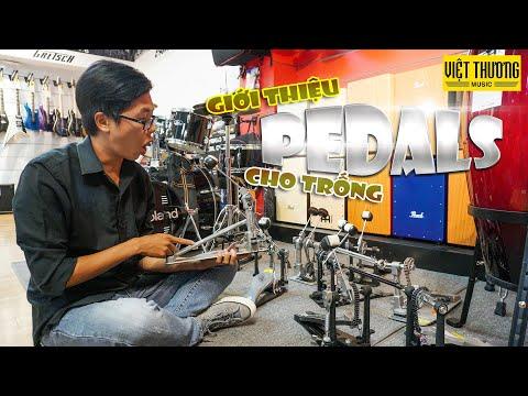 Giới thiệu Pedals trống, Pedals drum
