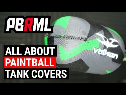 All About Paintball Tanks Covers and Tank Grips
