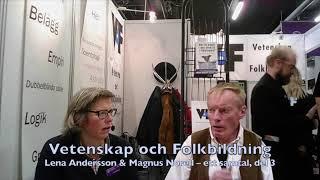 VoF Bokmässan 2017 – Del 3, Lena Andersson & Magnus Norell