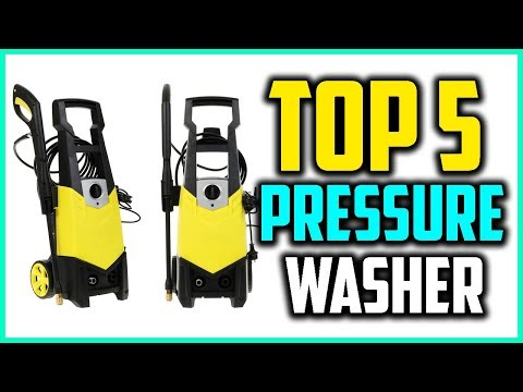 Top 5 Best Electric Pressure Washer Reviews in 2018